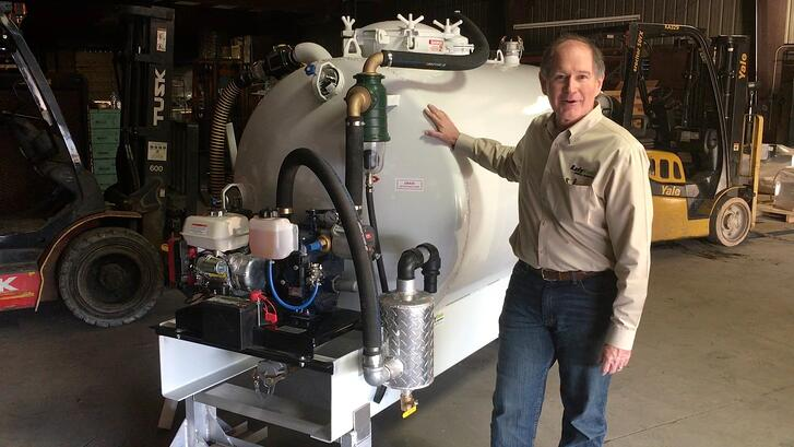 How to Keep Your Vacuum Tank  Pump Turning a Profit